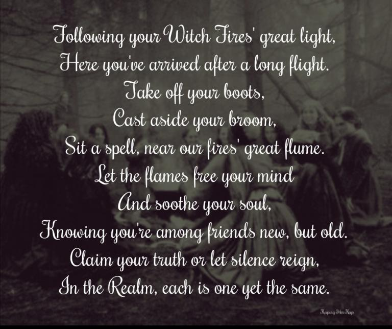 Celebrating The Witches' Grand Sabbat on May Eve: Flying Home to the