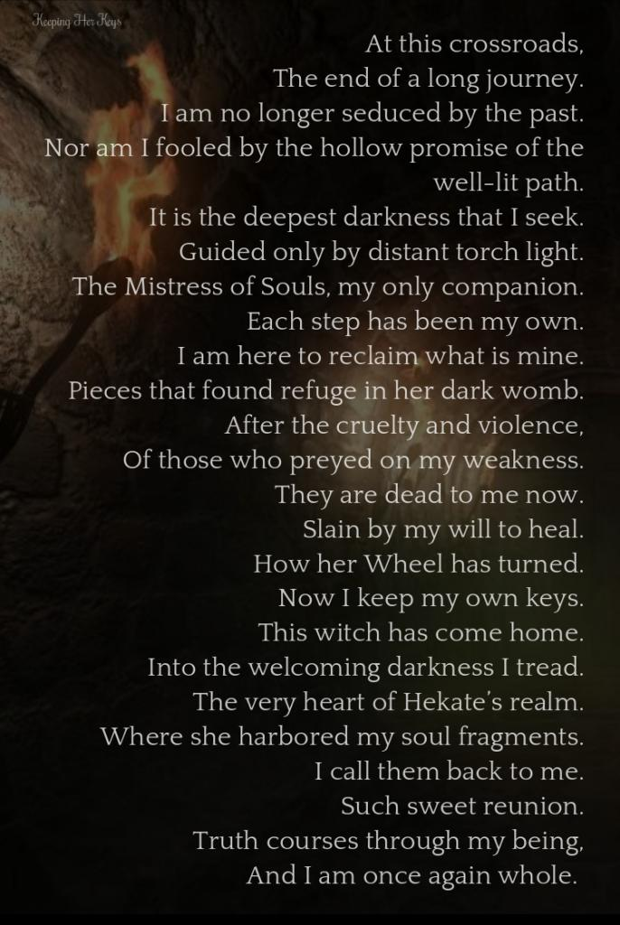 Deeper Into The Darkness: Hekate and Soul Retrieval   Hekate Soul