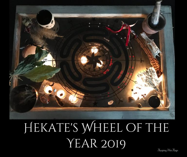 Hekate and August: Celebrating The Harvest, Storms, Witchcraft, Keys