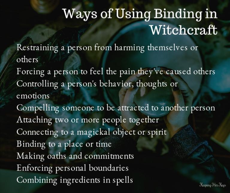 Spellbound: Ways of Using Binding In Witchcraft   Cyndi Brannen