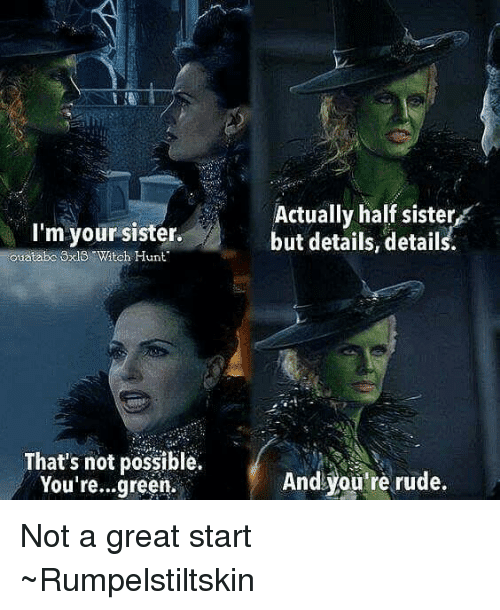 funny not witch sisters once upon a time
