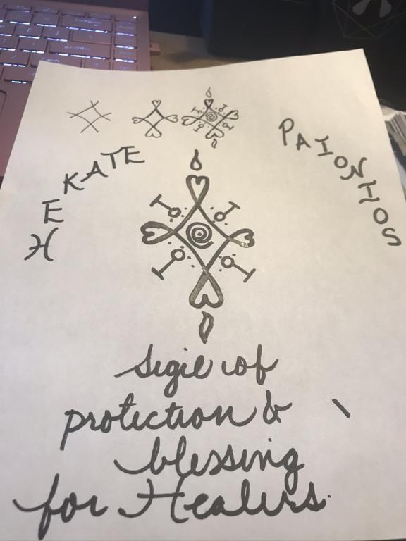 Hekate ritual healing powers summon