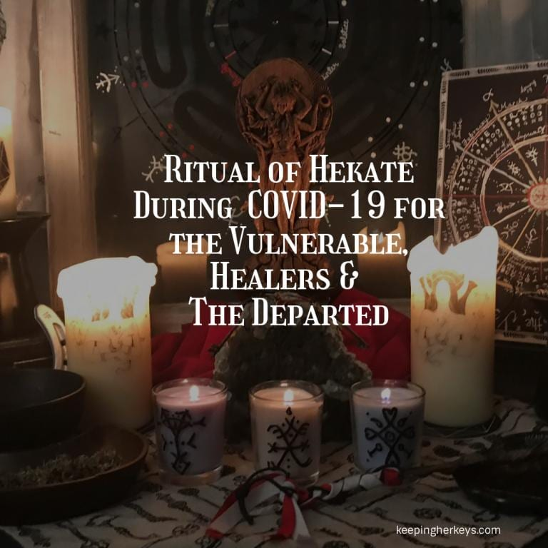 Image of an altar to Hekate