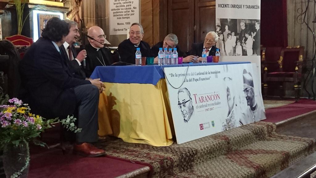Cardinal Maradiaga (3rd on the right) (Author)
