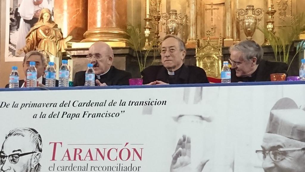Cardinals Osoro, Maradiaga and Sistach remember Cardinal Tarancón (Author)
