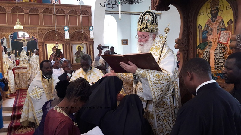 Ordination of a woman to the diaconate in the Congo (Alexandrian Patriarchate)