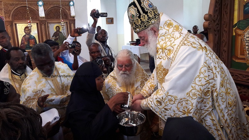 A woman is ordained to the diaconate in the Congo (Alexandrian Patriarchate)