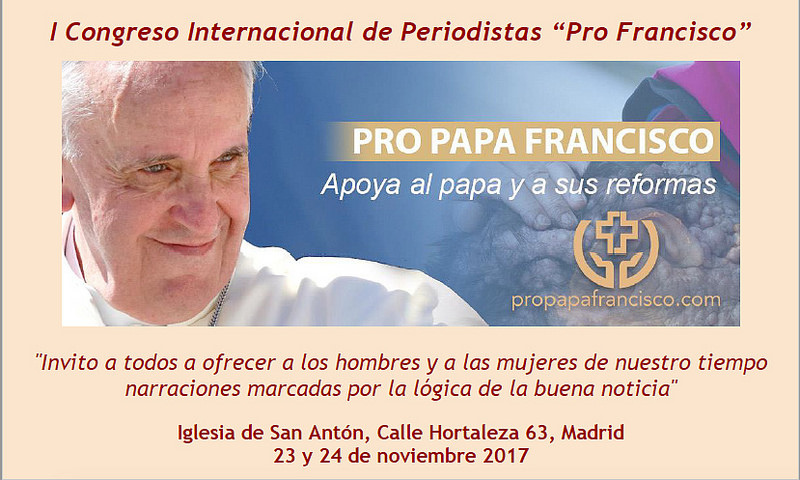 """1st International Conference of Journalists """"Pro Pope Francis"""" (Supplied)"""