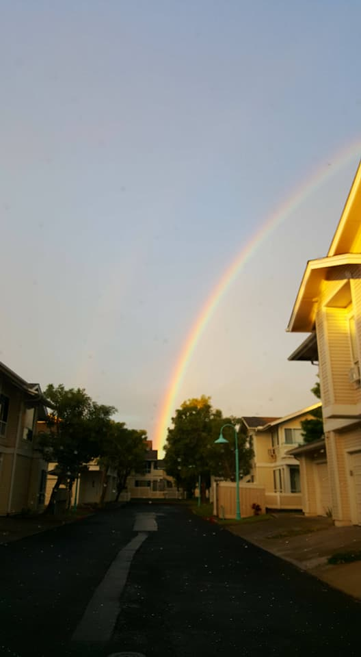 Rainbow in the complex