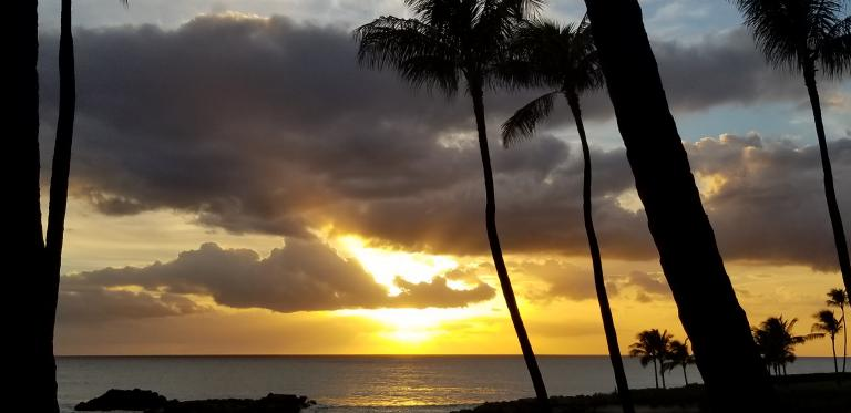 Mormon Gratitude Ocean sunset