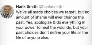 Hank Smith tweet