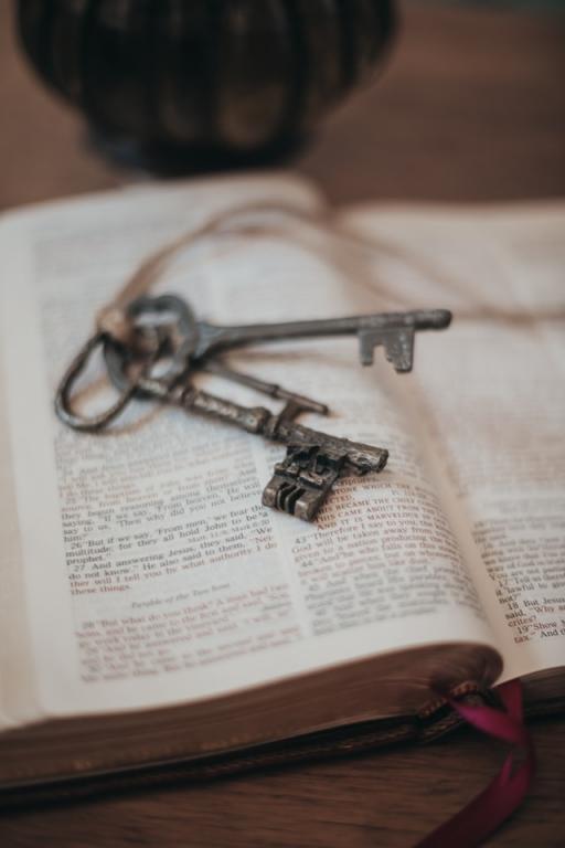 Aaronic Priesthood olden keys set on scripture