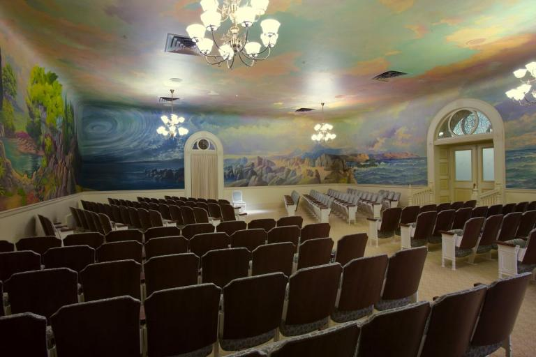 frescoes Salt Lake Temple