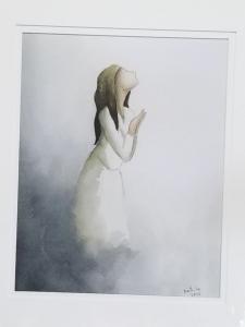 girl entering the light