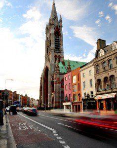 Dublin, en route to the Guinness Storehouse