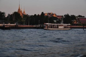 Temples from the Mae Nam Chao Phraya River