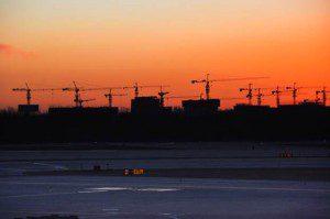 Beijing Airport Construction, en route to Seoul