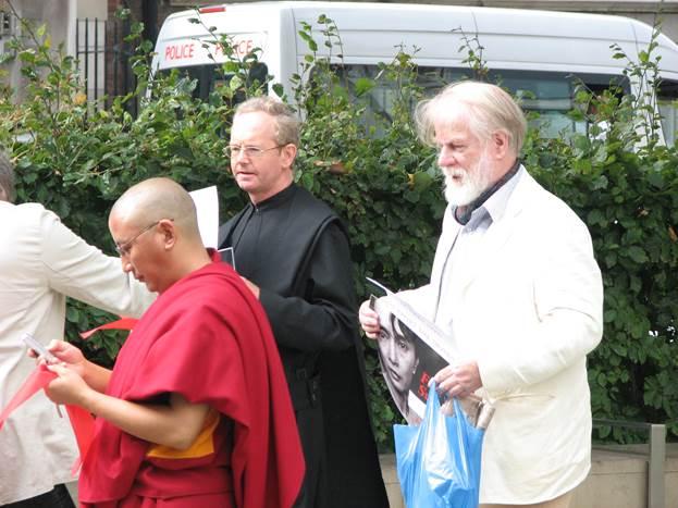 Free Burma rally - London 2007.