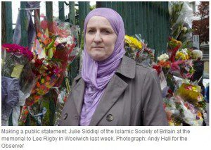london woolwich attack julie siddiqi