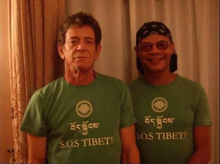 Lou Reed, friend of Tibet