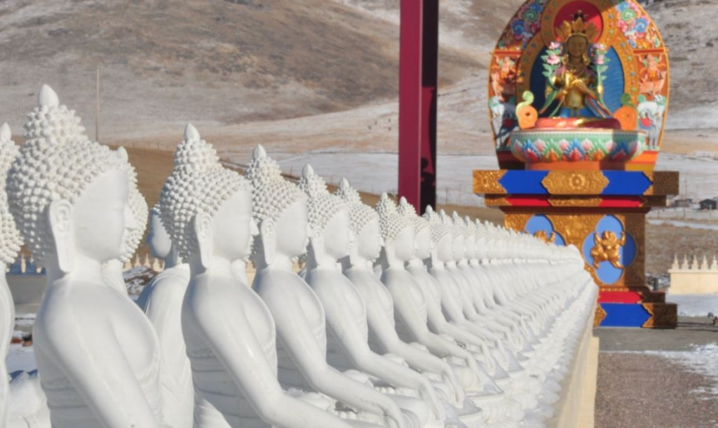 Ewam 1000 buddhas winter 2012
