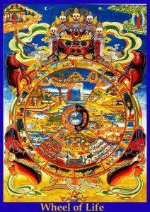 wheel of life - small