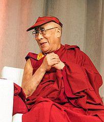 Tenzin Gyatso - 14th Dalai Lama; photo by Christopher Michel Flickr C.C.