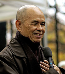 Thich Nhat Hanh in Paris, 2006
