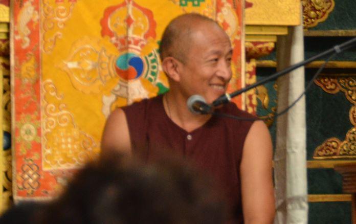 Dzongsar Khyentse Rinpoche - Bodhgaya 2014