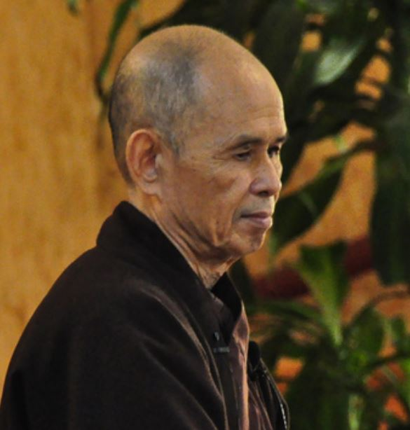 Thich Nhat Hanh by Geoff Livingston CC flickr