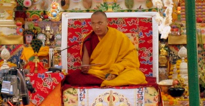 The 17th Karmapa, Ogyen Trinley Dorje.