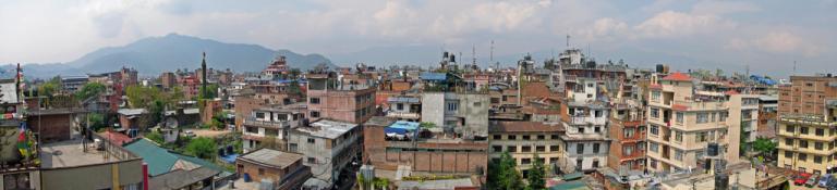 Nepal - Kathmandu - Roofscape