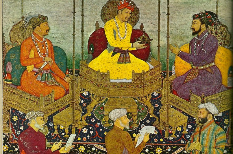 India, Mughal Art. Photo by Nathan Hughes Hamilton (flickr C.C.)