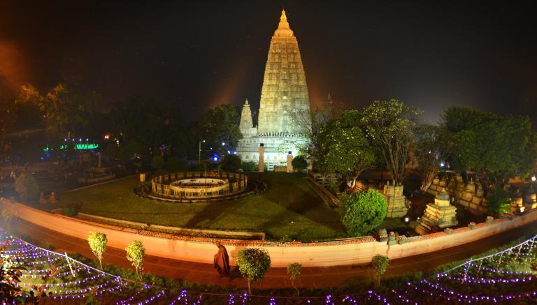 Mahabodhi Temple, Bodhgaya India (2014)