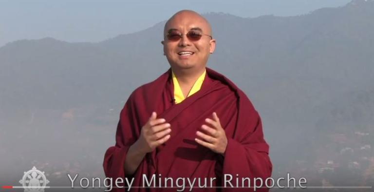 Mingyur Rinpoche-lazy meditation