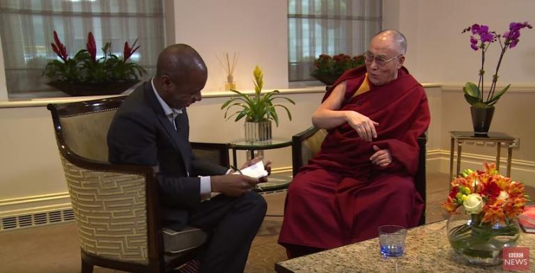 Dalai lama bbc interview sept 2015
