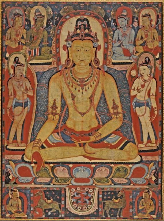 jina buddha ratnasambhava tibet kadampa