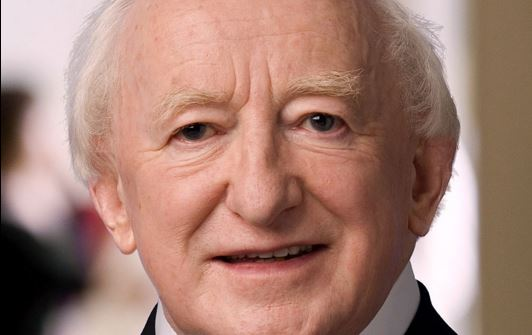 Irish President Michael Higgins (via Wikimedia C.C.)
