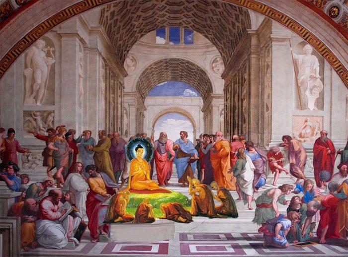 buddha-plato-aristotle