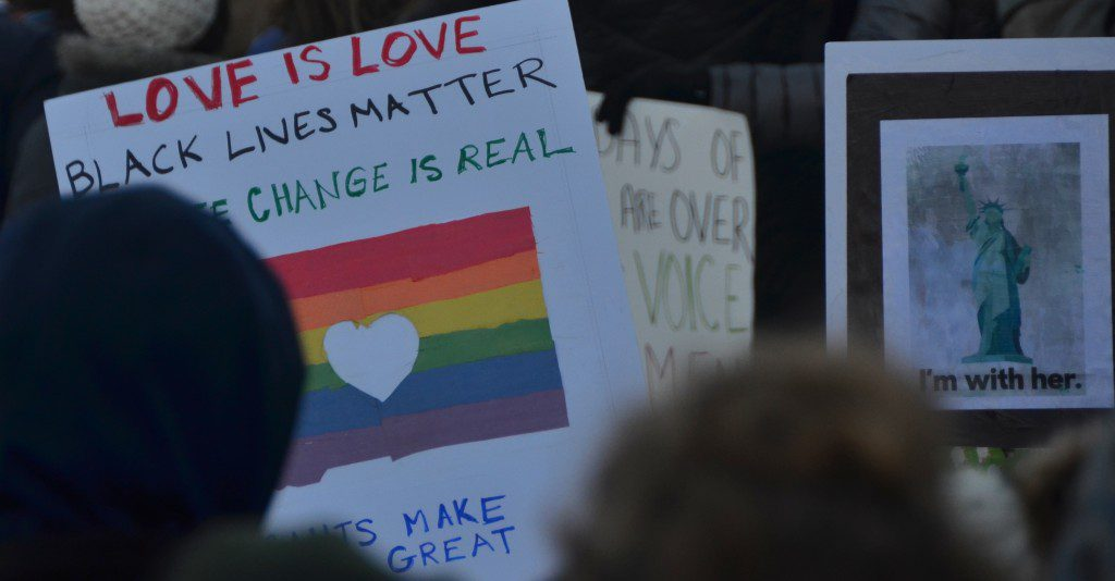Love is Love - Black Lives Matter - Climate Change is Real