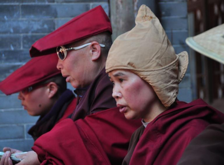 nuns in china