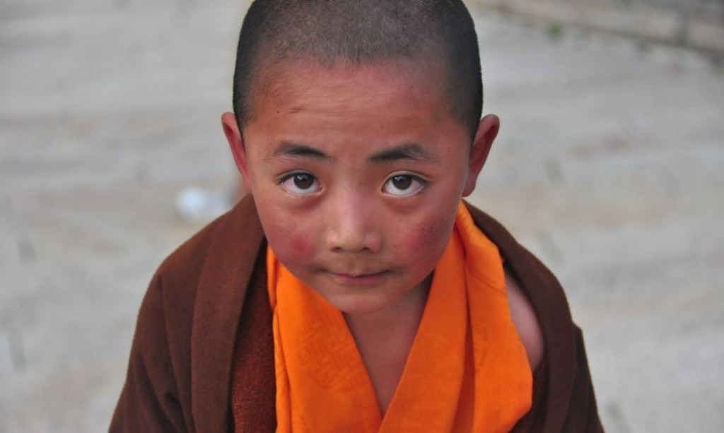 tibetan boy monk china