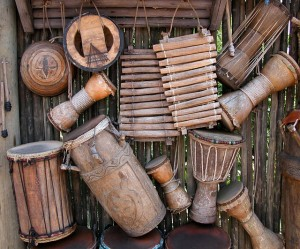 Drumming for stress relief?