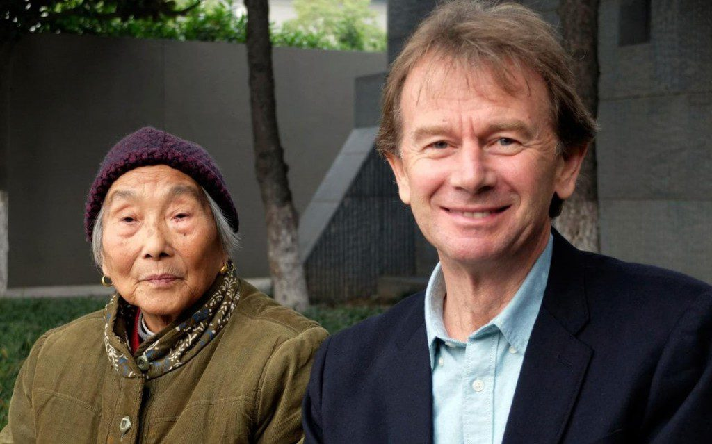 Michael Wood in The Story of China (courtesey BBC/PBS)