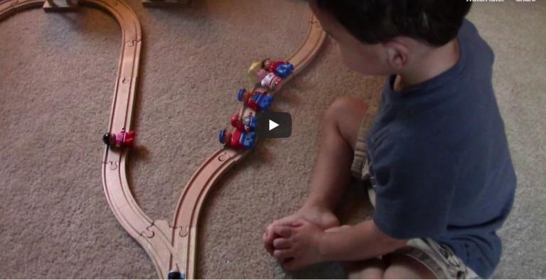 A 2-year-old solves the trolley problem (and a note on Buddhist ethics)