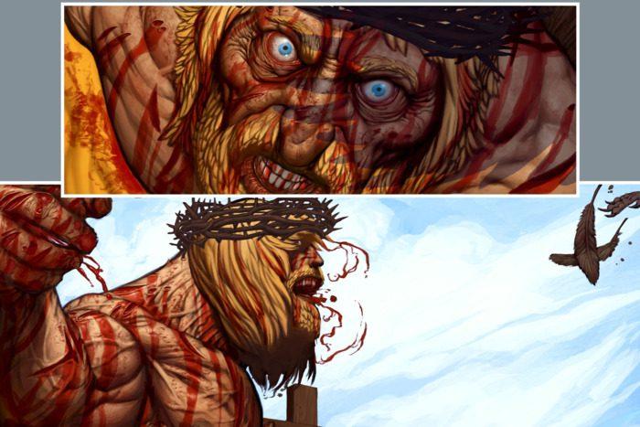 The Savage Sword of Jesus?