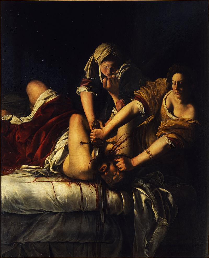 Artemisia_Gentileschi_-_Giuditta_decapita_Oloferne_-_Google_Art_Project