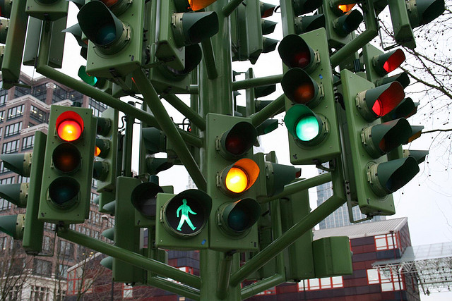 Traffic Light Tree, London (Martin/Flickr)