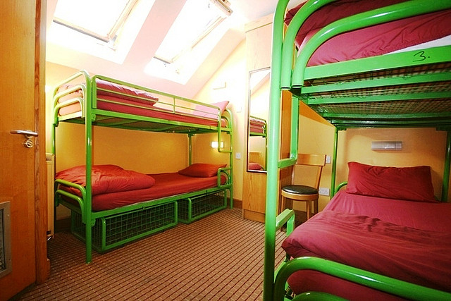 doubled beds