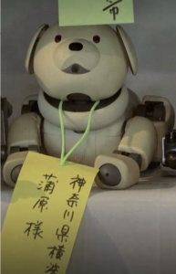 this AIBO has died
